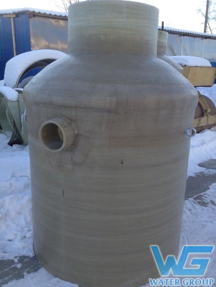 Колодец из стеклопластика производства Ватер Групп г. Челябинск