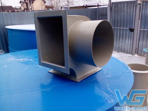 Пластиковые воздуховоды и фасонные части на заказ в Челябинске