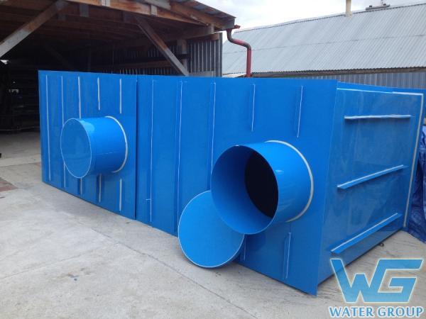 Пластиковые колодцы сетей водоснабжения
