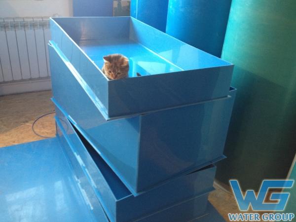Производство лотков для гидропоники