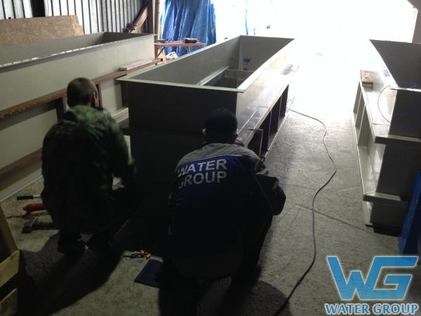 Изготовление гальванических ванн