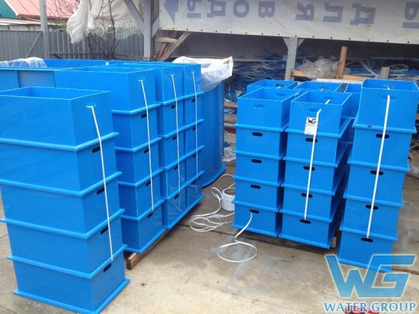 Пластиковые ящики для хранения