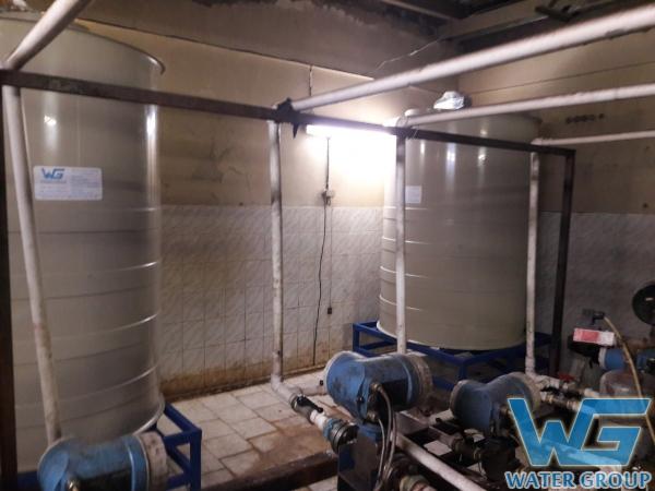 Емкости-реакторы на подставке