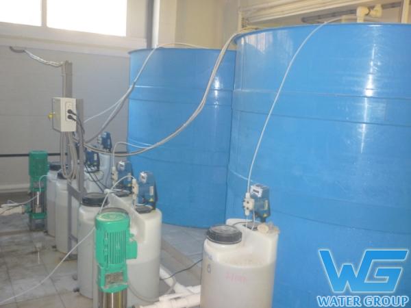 Емкости из пластика в системе очистки воды