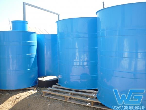 Изготовление пластиковых резервуаров для хранения запаса воды