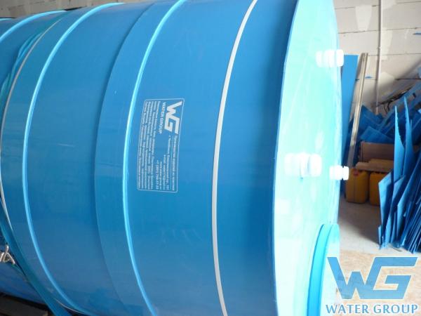 Изготовление емкости из пластика для хранения воды