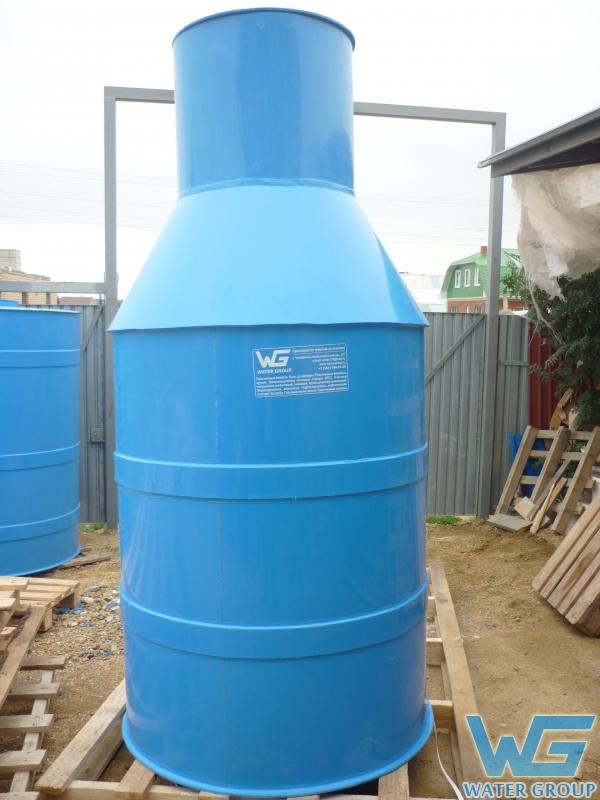 Кессон из пластика для скважины производства Ватер Групп г. Челябинск
