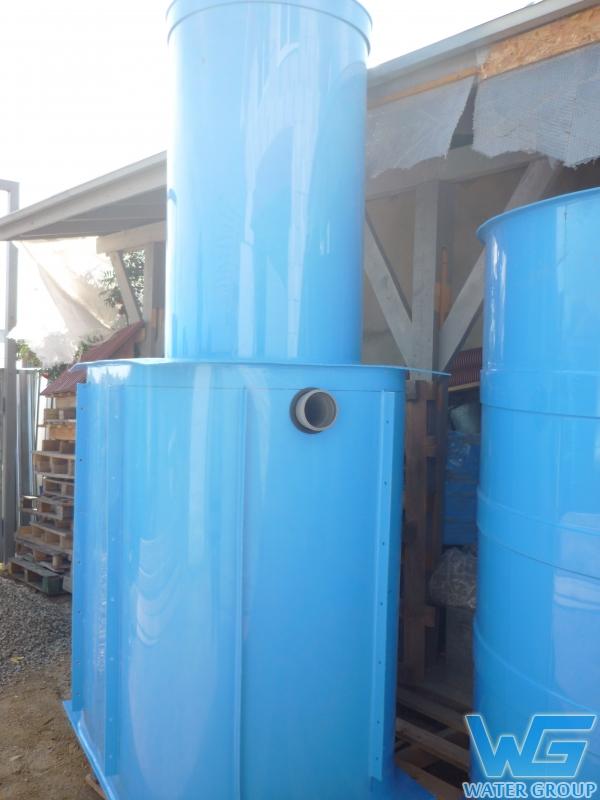 Колодец из пластика для сточной воды производства Ватер Групп г. Челябинск