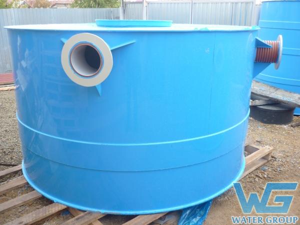 Резервуары из пластика на заказ для воды