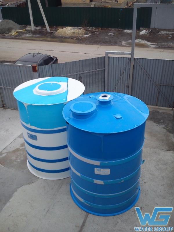 Изготовление горизонтальных резервуаров для воды большого объема