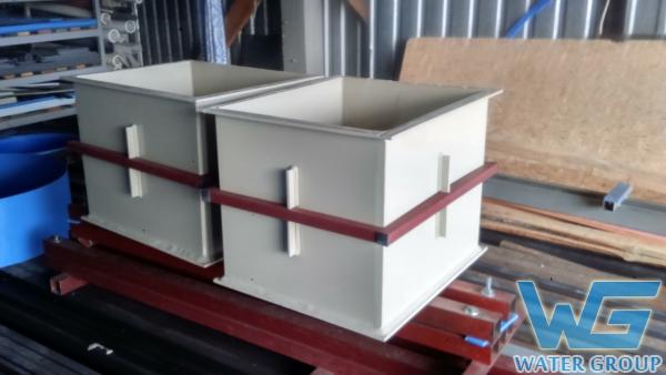 Изготовление ванн в каркасе для гальванического производства