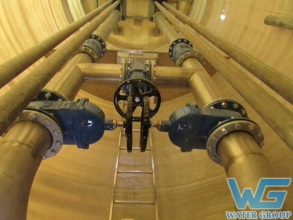 Напорные трубопроводы из нержавеющей стали для КНС