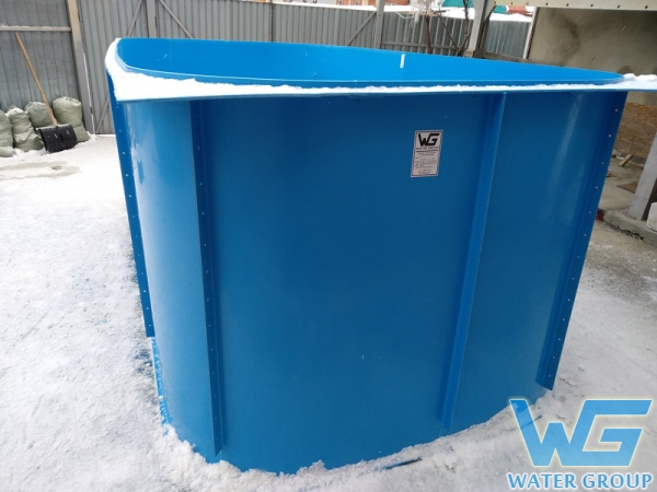 Полипропиленовый бассейн на заказ