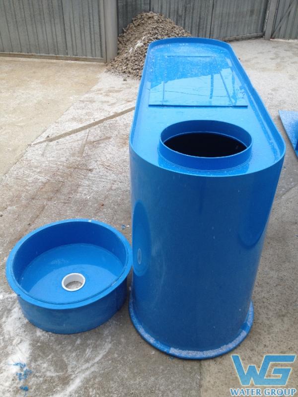 Коллектор из пластика для очистки стоков
