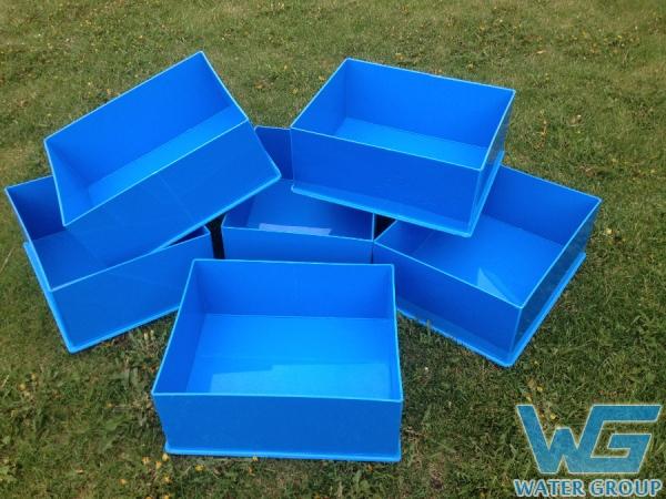 Пластиковые коробы для хранения различного оборудования