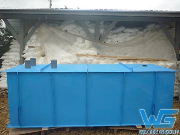 Изготовление пластикой выгребной емкости