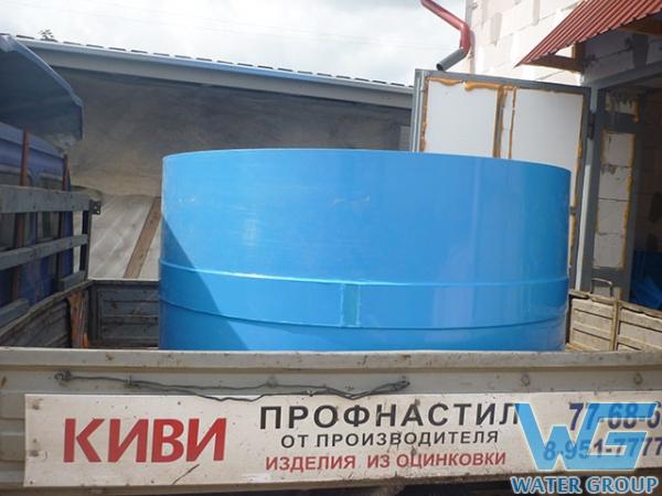 Транспортировка емкости для засолки продуктов питания