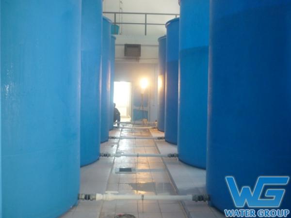 Пластиковые емкости для системы очистки воды