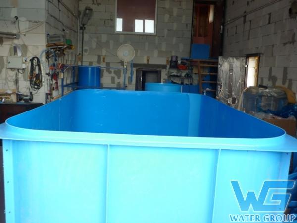 Бассейн для бани. Производство