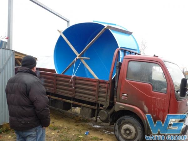 Купель из полипропилена в Челябинске