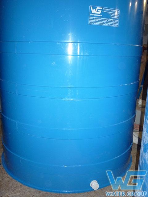Емкость из пластика для хранения пожарного запаса воды