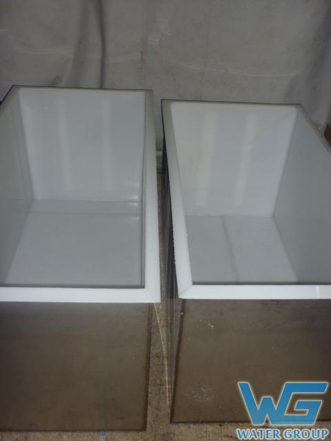 Пластиковые вкладыши в гальванические ванны из металла (футеровка)