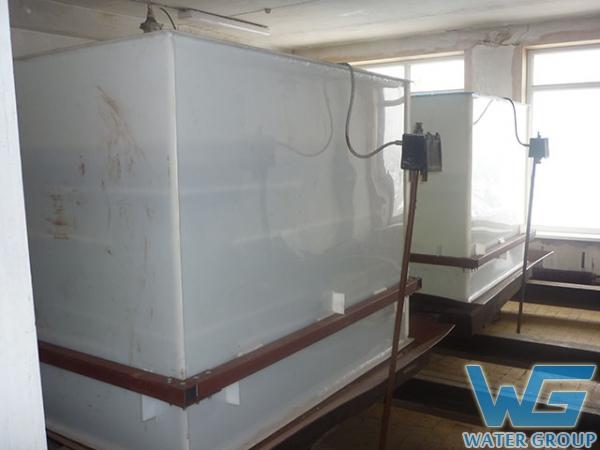 Емкости из пластика на заказ для хранения пожарного запаса воды