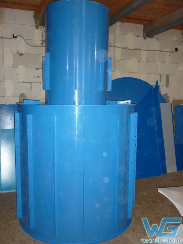 Пластиковый колодец из полипропилена производства Ватер Групп г. Челябинск